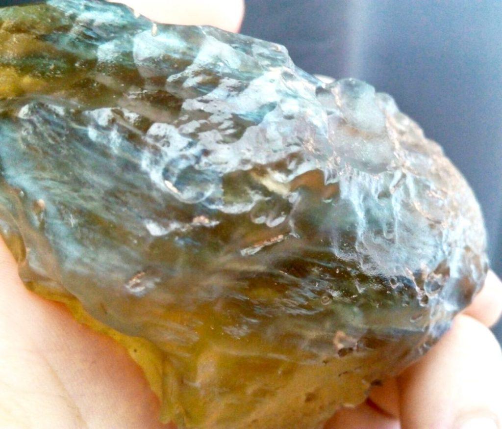 Libyan Desert Glass. 205g. Collection