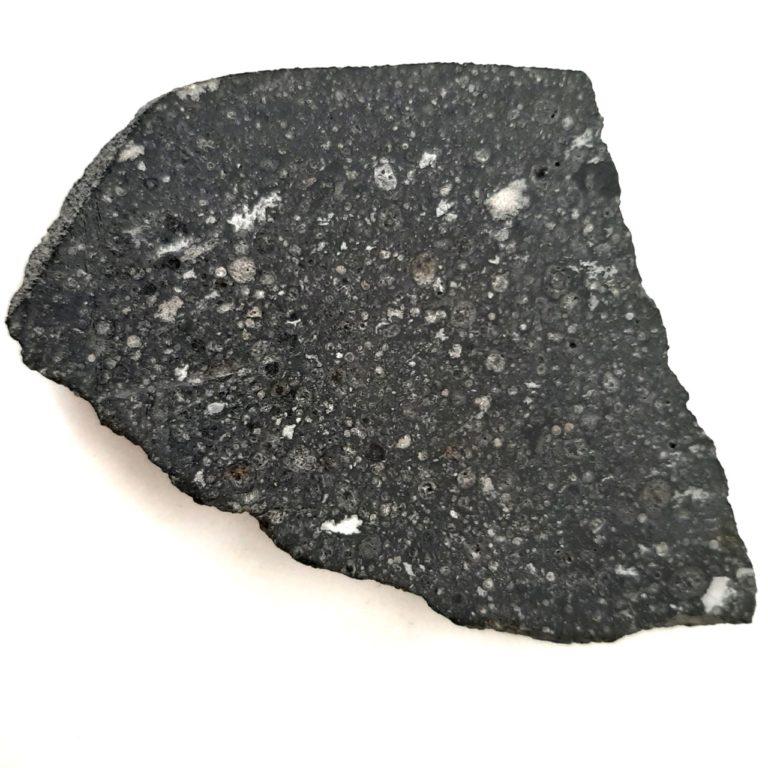 Allende meteorite. CV3 chondrite. Endcut.