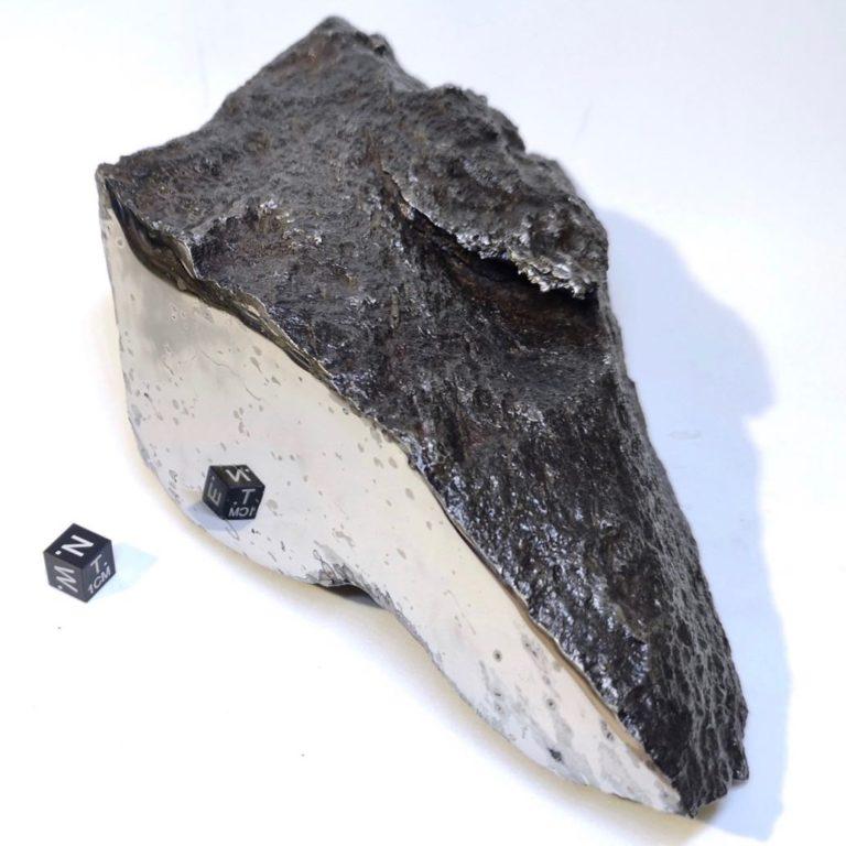 Dronino meteorite. Ataxite, iron.
