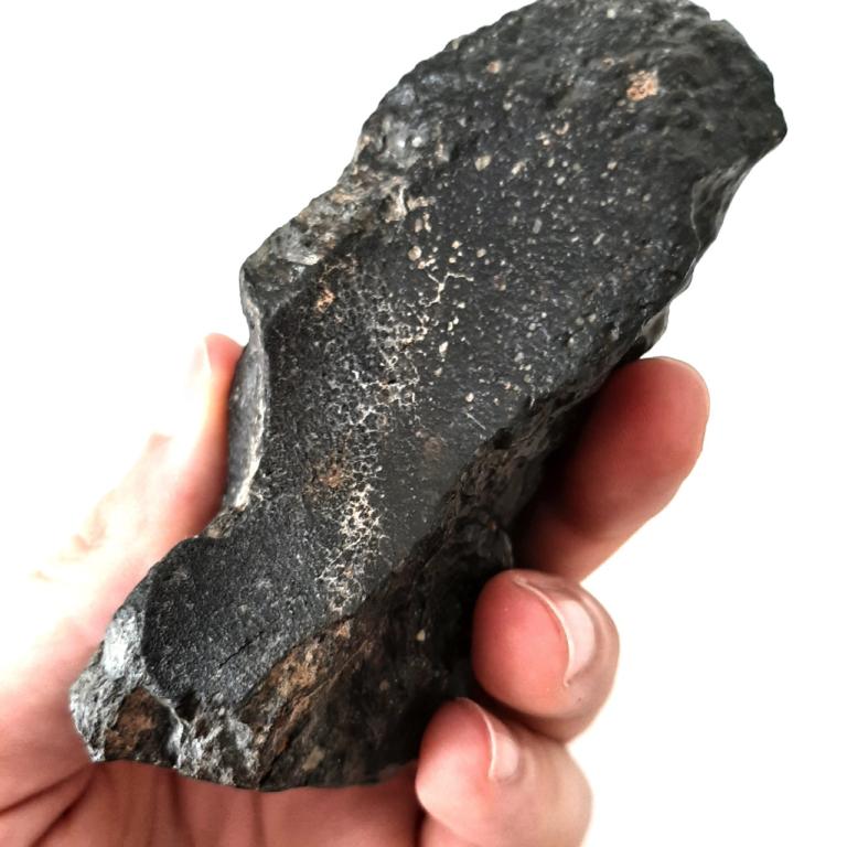 R chondrite. Rumuruti meteorite, rare type.