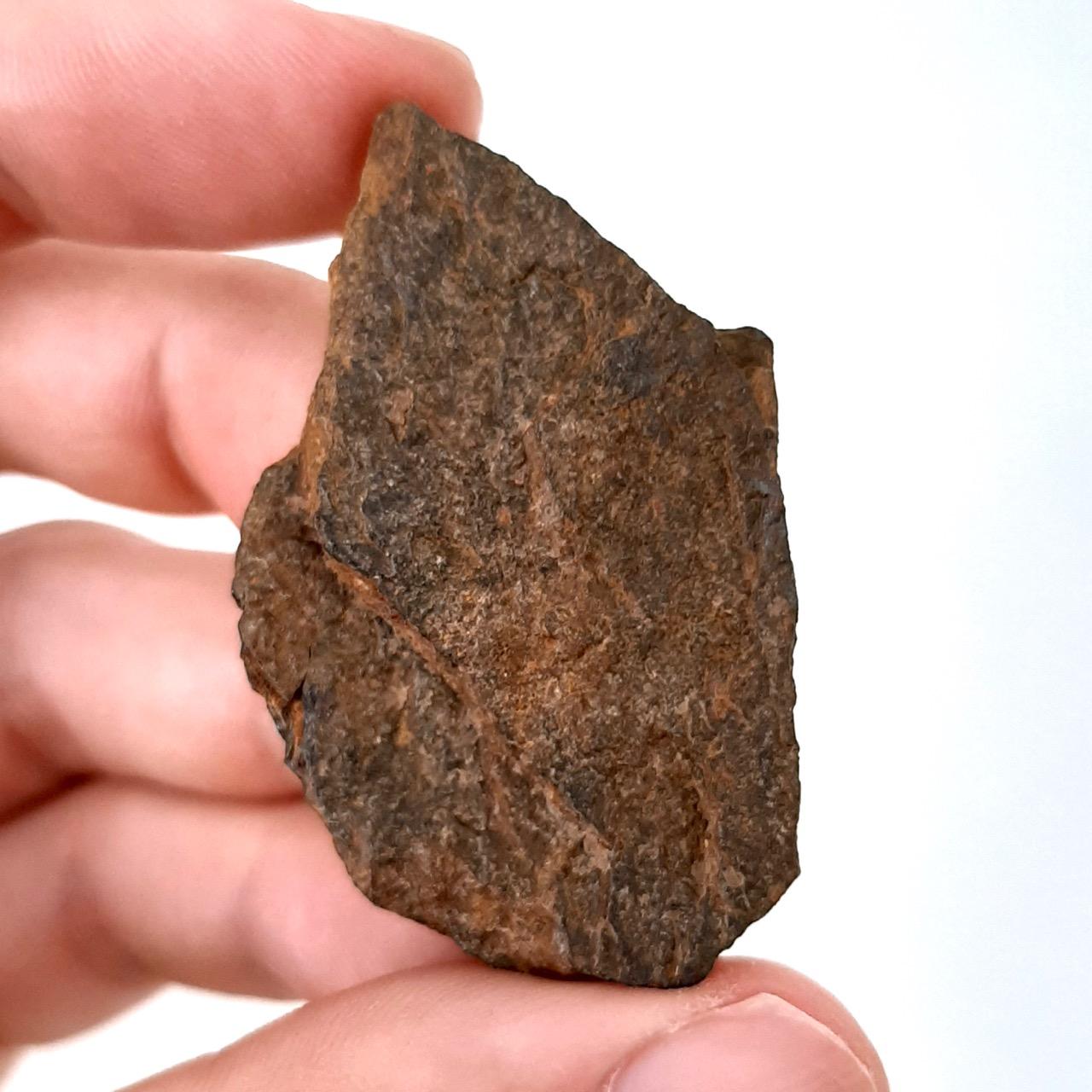 Bendegó meteorite. From burnt museum's mass in Brazil.