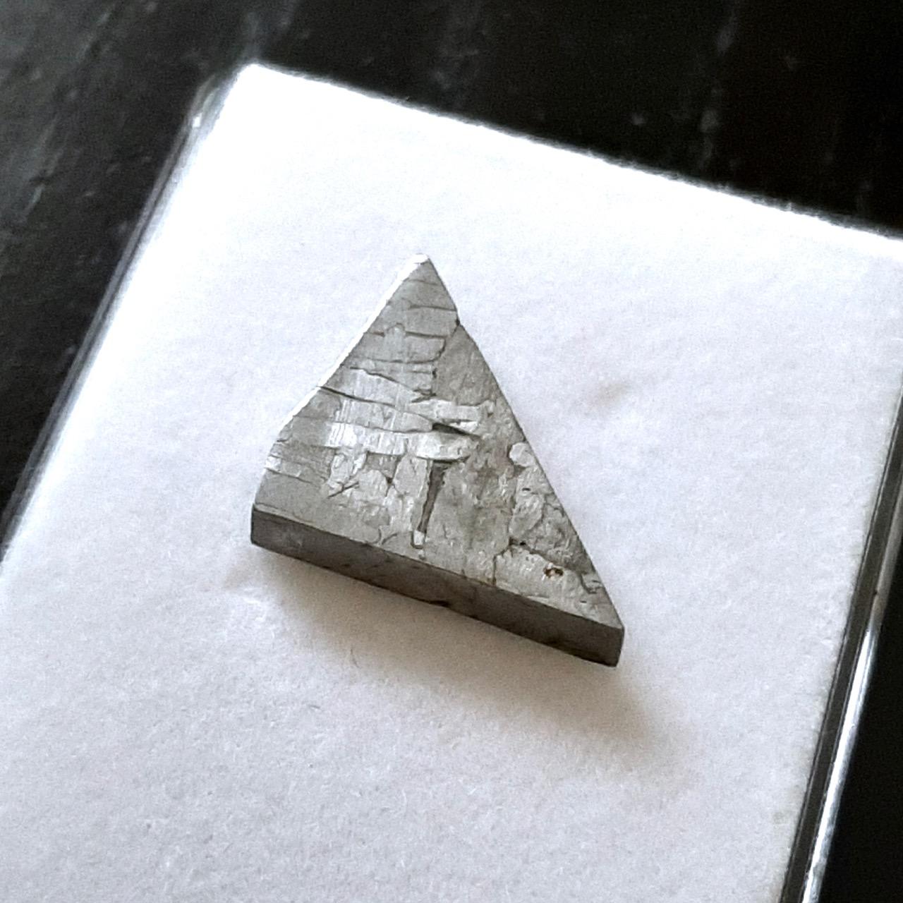 Cape York meteorite. Slice.