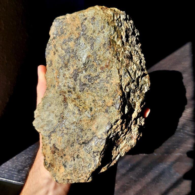 NWA 14056 diogenite meteorite. Main mass.
